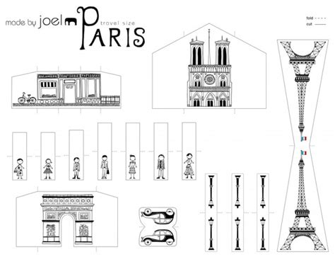 paper craft city diy city of papercraft that fits in your pocket