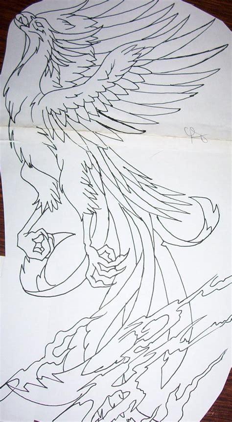phoenix tattoo design by tattoosuzette on deviantart