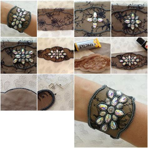step by step jewelry how to make lace and bracelet step by step diy