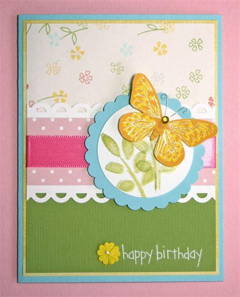 for handmade cards handmade card happy birthday butterfly family friends ebay