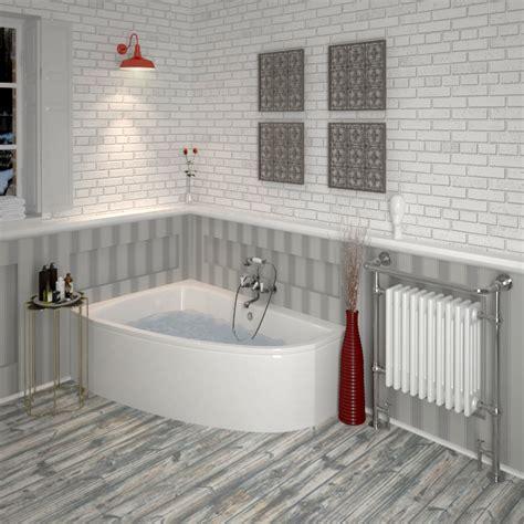 offset corner bath shower screen clia left offset corner bath panel buy at