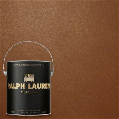 home depot paint colors ralph ralph 1 gal copper luster gold metallic specialty