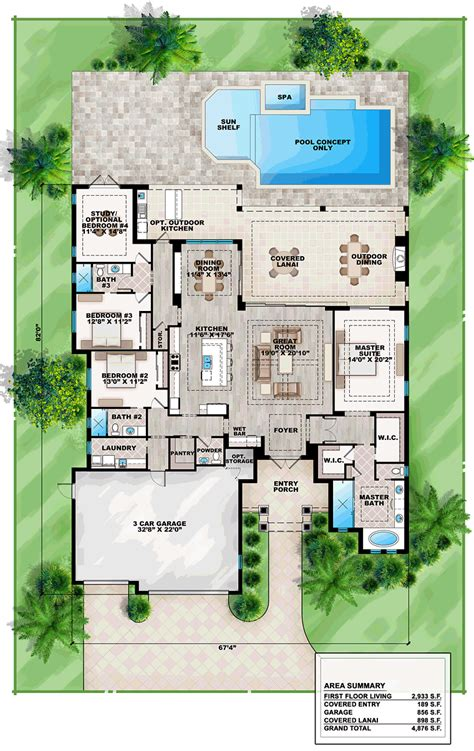 lanai house plans astounding lanai house plans gallery best idea home