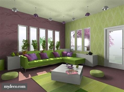 interior design color ideas 121 best interior purple green images on
