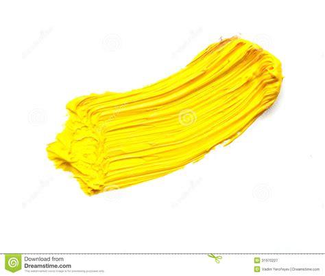 acrylic painting no brush strokes yellow stroke royalty free stock photography image 31970227
