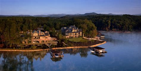 Small Lakefront House Plans real estate the reserve at lake keowee