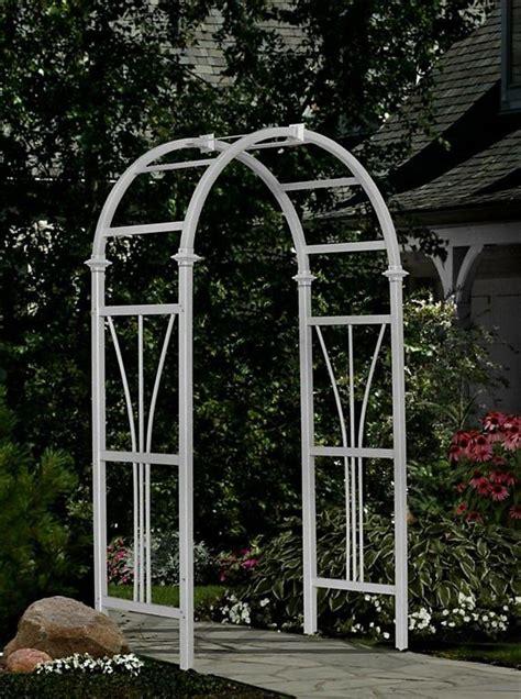 White Garden Arch Uk New Arbors Decorative Vinyl Dublin Garden Patio