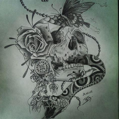 snake tattoo skull ink on instagram