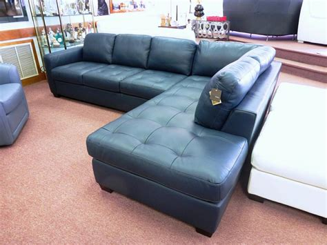 teal sectional sofa teal blue leather sofa thesofa
