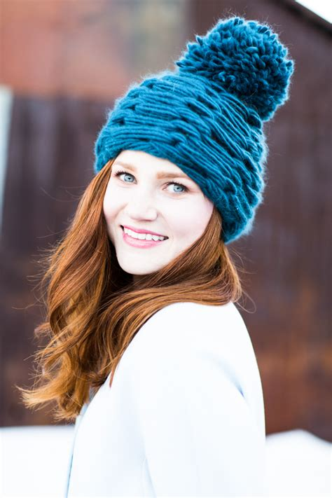 how do you finger knit a hat knitting without needles get arm knitting tutorial