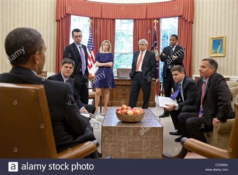 president oval office us president barack obama meets with senior advisors in