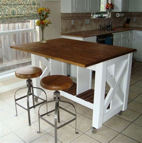 small kitchen island table diy small kitchen table gl kitchen design