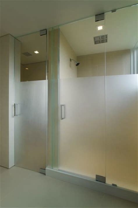 shower door frosting shower doors steam frosted