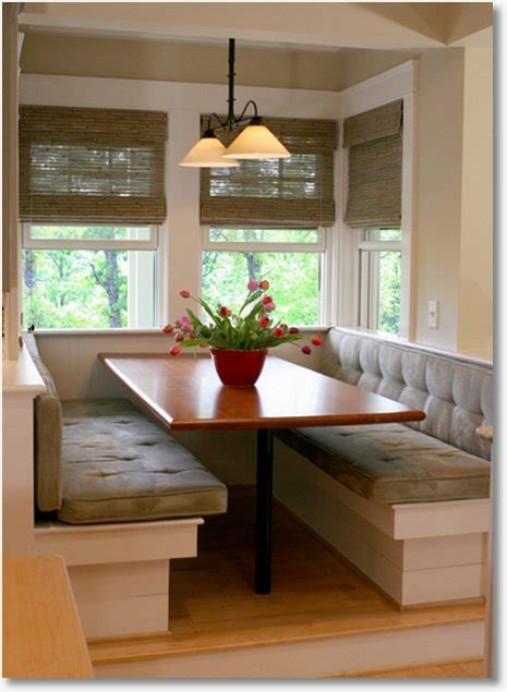 booth table for kitchen kitchen built in booth kitchen design photos