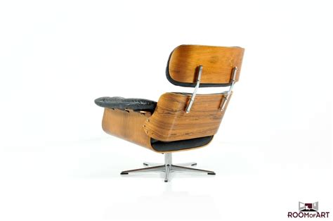 Black Swivel Chair by Mid Century Lounge Chair In Palisander Rosewood Room Of Art