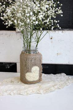 decorare con la juta d 233 corer des bocaux recycl 233 s avec de la toile de jute 20 id 233 es