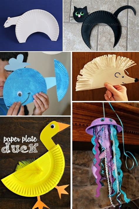 animal paper plate crafts 25 best ideas about animal crafts on