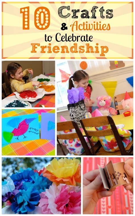 friendship crafts for crafts and activities to celebrate friendship inner