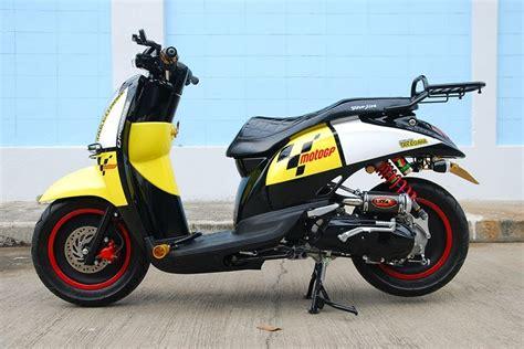 Modifikasi Matic Honda by Modifikasi Motor Matic Modifikasi Honda Scoopy Style Racing