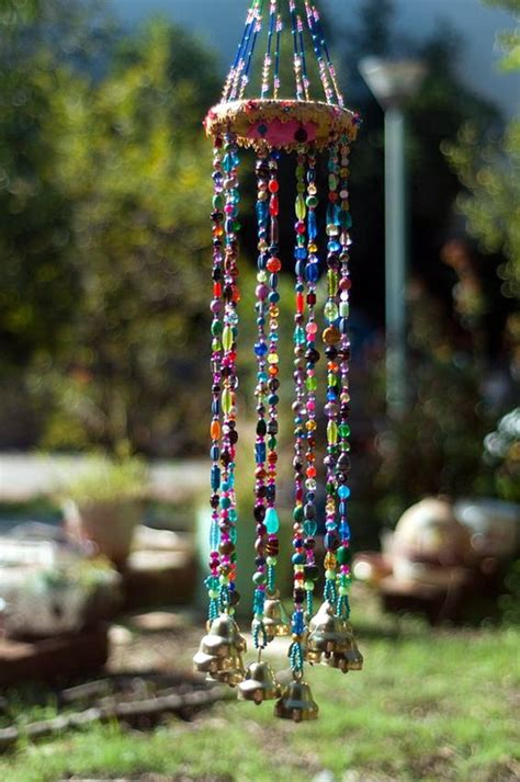 diy beaded wind chimes 40 diy wind chime ideas to try this summer summer craft