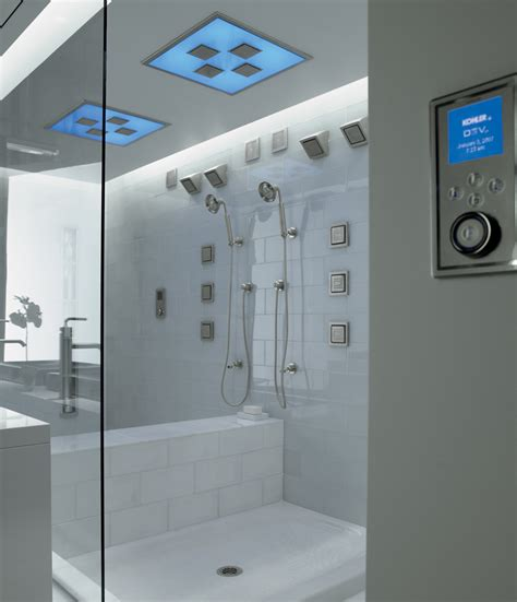 Shower Heads Lowes by Luxury Showers With Kohler