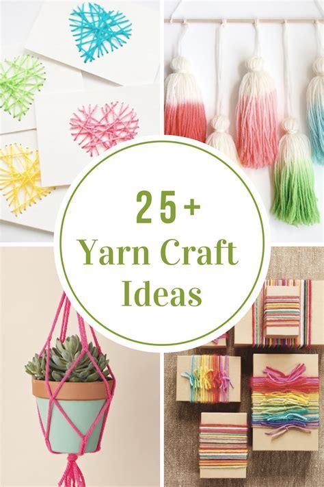 yarn craft projects yarn craft ideas the idea room