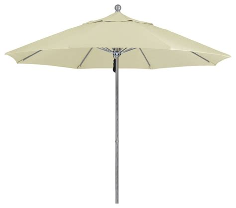 patio umbrellas sunbrella 9 foot sunbrella fabric aluminum pulley lift patio market