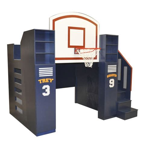 basketball themed bunk beds basketball bunk bed