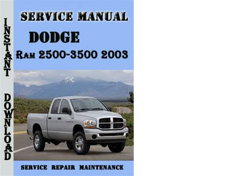 car repair manual download 1998 dodge ram 2500 club user handbook service manual 2003 dodge ram van 3500 transmission technical manual download service manual