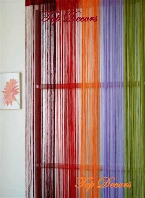 string curtains string tassel door curtain colour choice w100l290cm w40