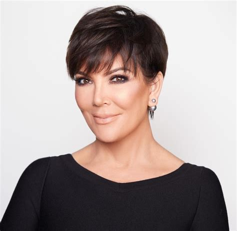kris jenner haircut kris jenner haircut pictures front and back short