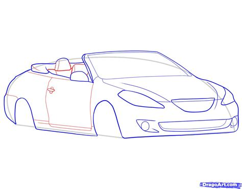 how to draw a car 8 steps with pictures wikihow how to draw a convertible step by step cars draw cars