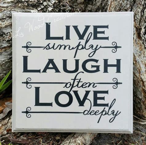 live laugh signs live laugh wood sign plaque home decor by