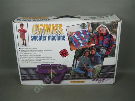 ultimate knitting machine bond america ultimate sweater knitting machine w box 600
