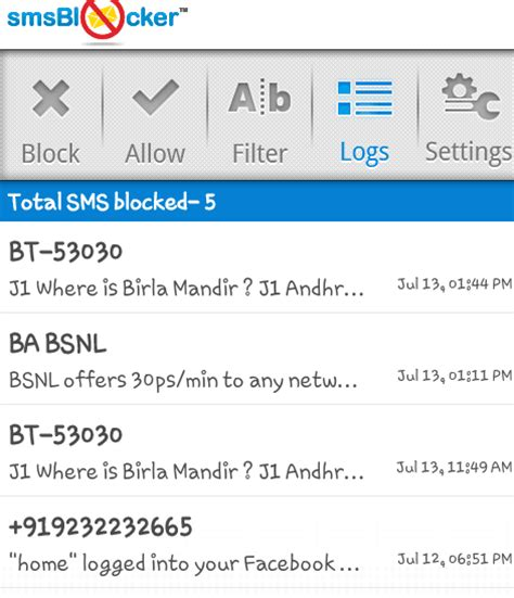 how to block spam sms how to block spam text messages in android phones