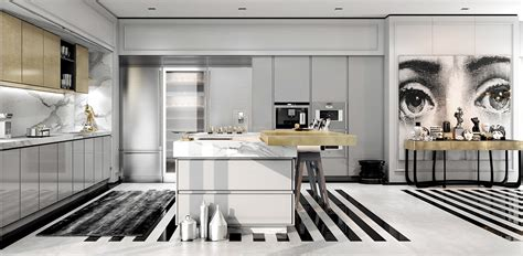 in style home decor a modern deco home visualized in two styles