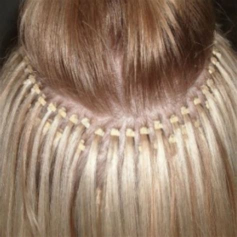 micro bead extensions for thin hair what s the best type of hair extensions for coloured hair