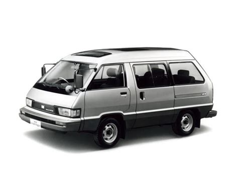 Daihatsu Delta by Daihatsu Delta 1982 1983 1984 1985 1986 минивэн 2