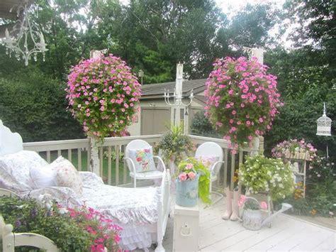 shabby chic outdoor furniture shabby chic style garden design ideas photos