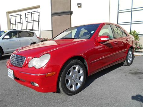 2004 Mercedes C Class C240 by 2004 C240 For Sale Savings From 6 860