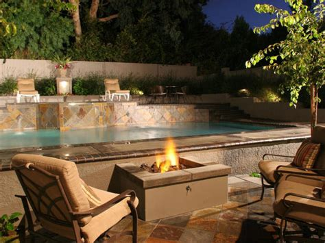 gas outdoor fireplaces pits how to build a gas pit hgtv