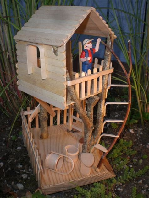 treehouse kid and craft craft stick bending crafts stick crafts projects for