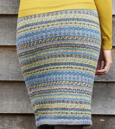 free fair isle knitting patterns fair isle skirt knitting pattern free