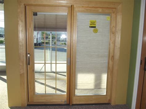 blinds sliding patio doors sliding patio doors with blinds between the glass