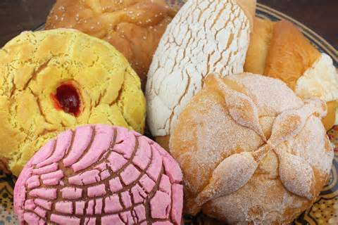 mexican bead all saints day and pan dulce mexican sweet bread spoon