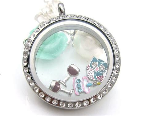 origami owl floating charms wine glass floating charm for living lockets origami owl