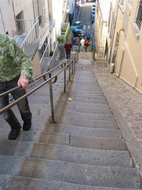 les escaliers de la butte montmartre dans tous ses 233 tats smenier photos