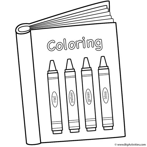 coloring picture of a book coloring book with crayons coloring page 100th day of