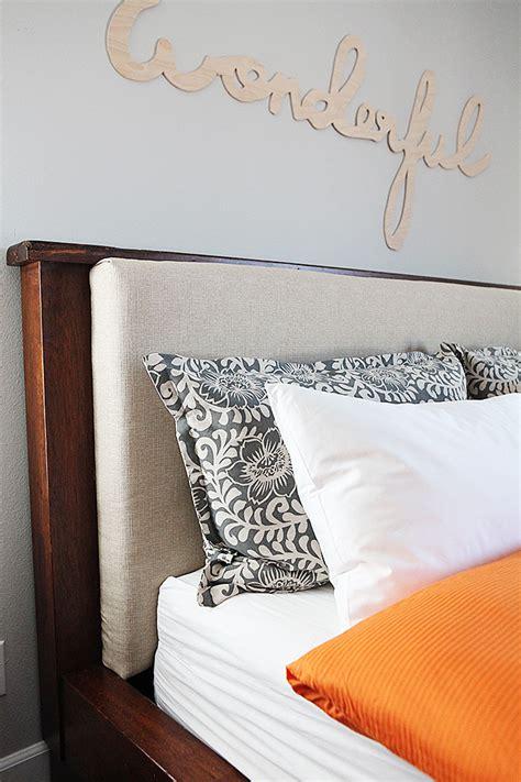 diy pillow headboard diy upholstered headboard insert and pillows
