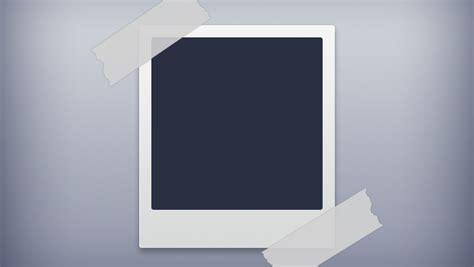 Five Frame polaroid photo frame vector image 365psd com